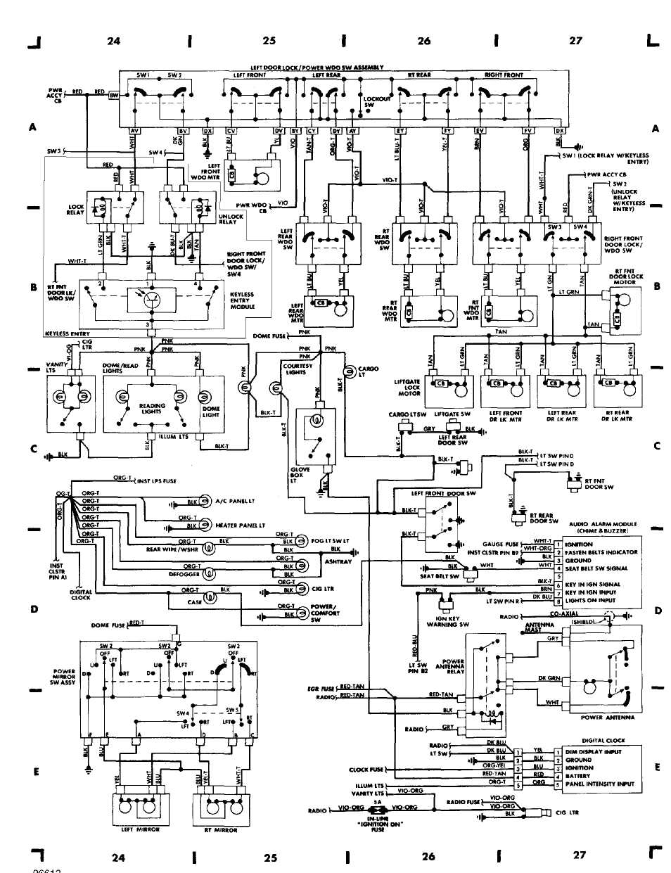 Jeep Engine Diagram | Schematic Diagram - 1995 Jeep Cherokee Wiring Diagram
