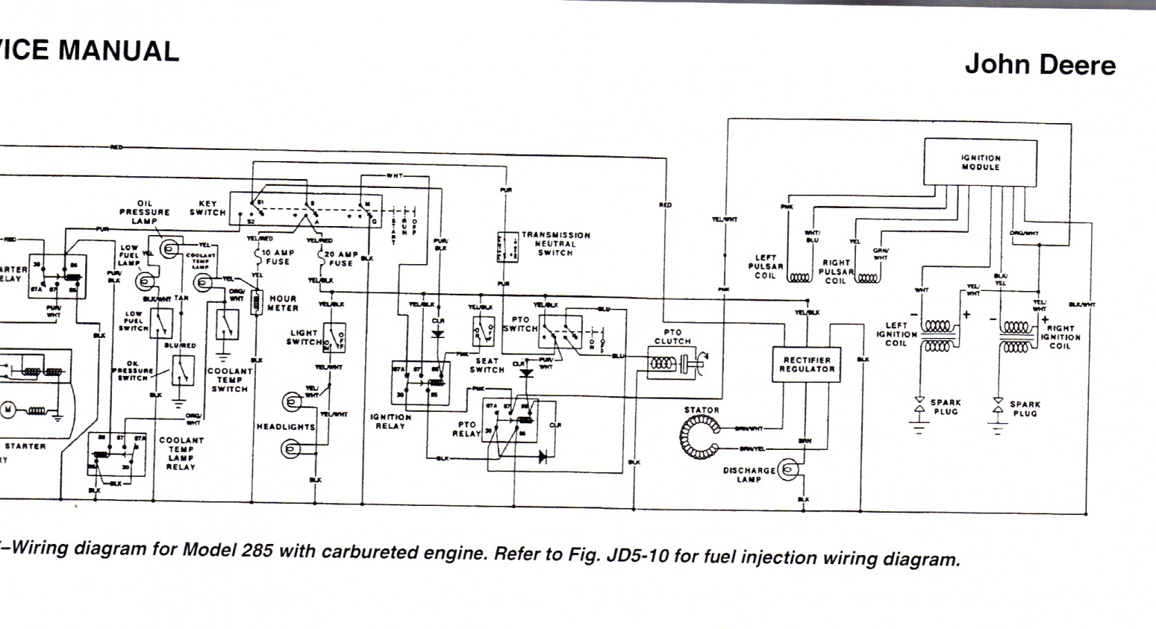 John Deere Fuse Box | Wiring Diagram - John Deere Wiring Diagram