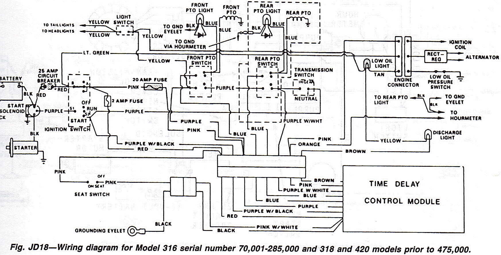John Deere Wiring Diagram For H | Manual E-Books - John Deere Wiring Diagram