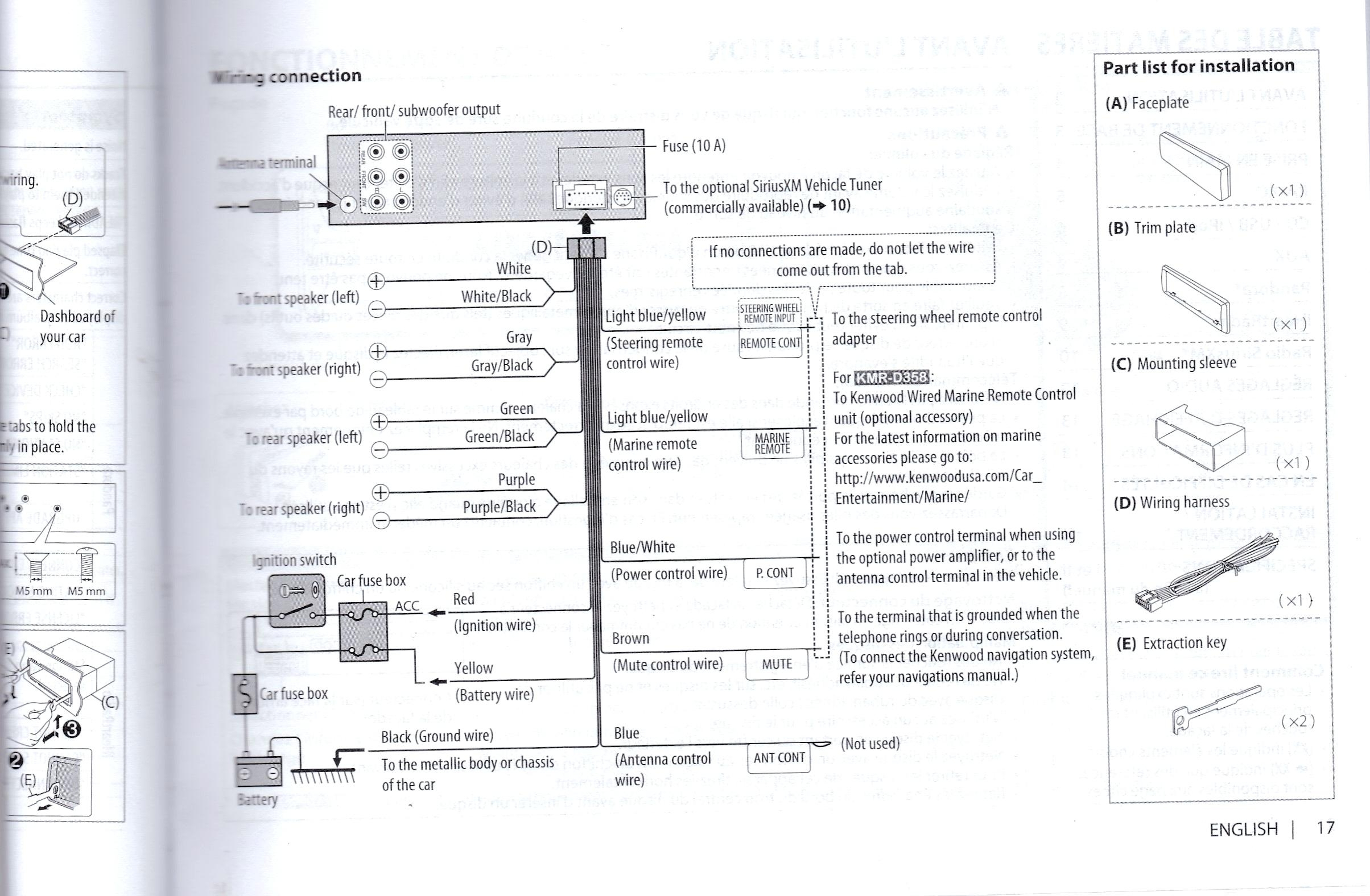 Kenwood Radio Wiring Diagram from 2020cadillac.com