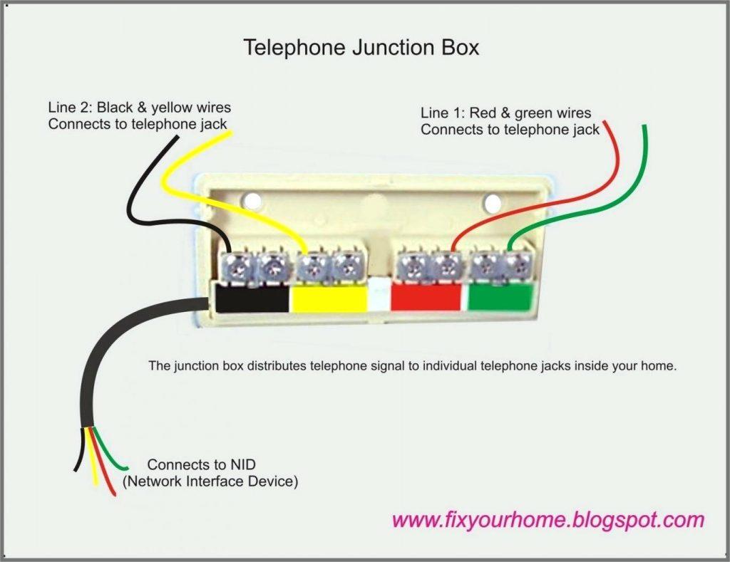 Keystone Telephone Wiring Diagram