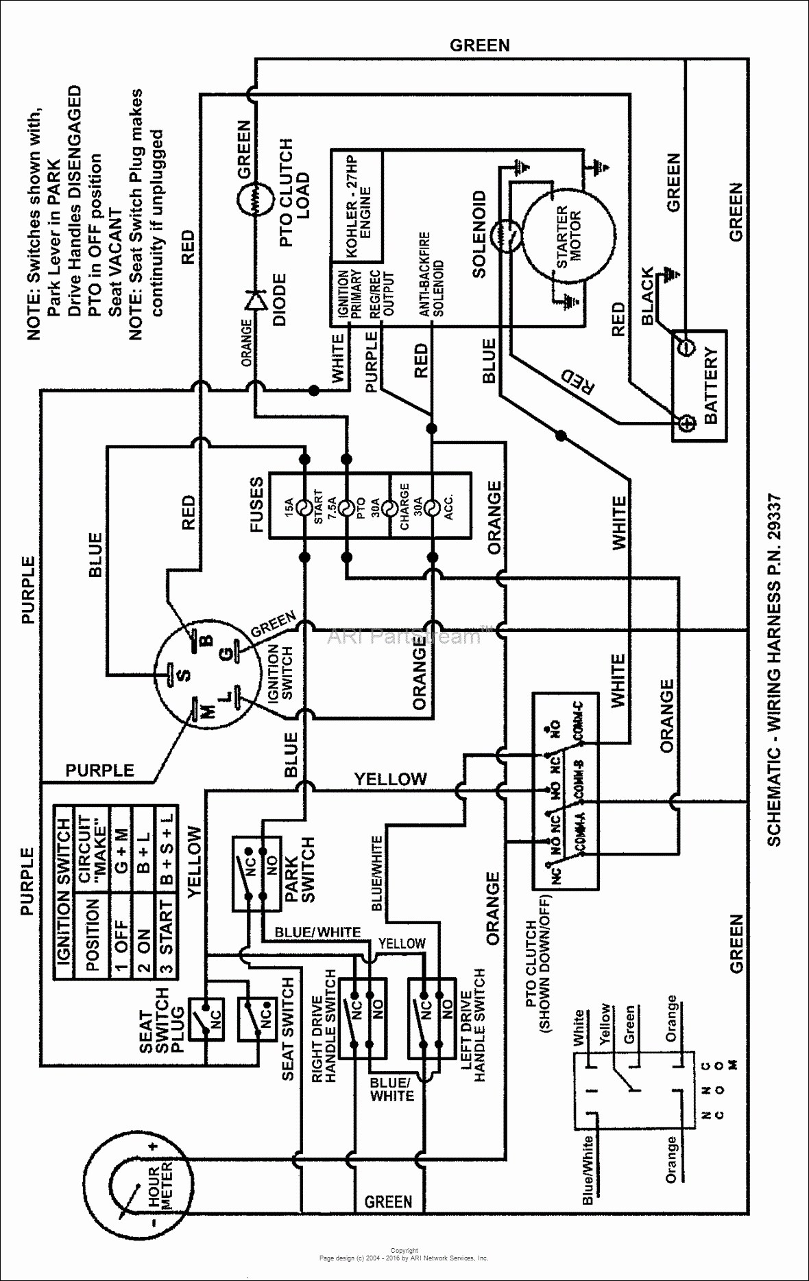 Kubota Charging System Wiring Diagram | Manual E-Books - Kubota Voltage Regulator Wiring Diagram