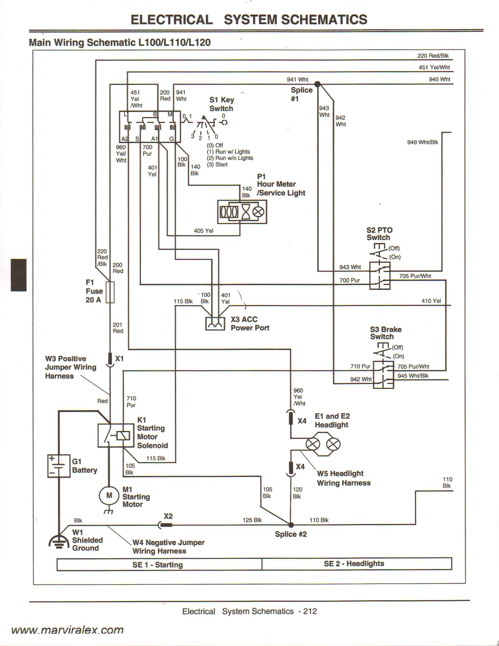 L120 Wiring Diagram - Data Wiring Diagram Schematic - John Deere L120 Wiring Diagram
