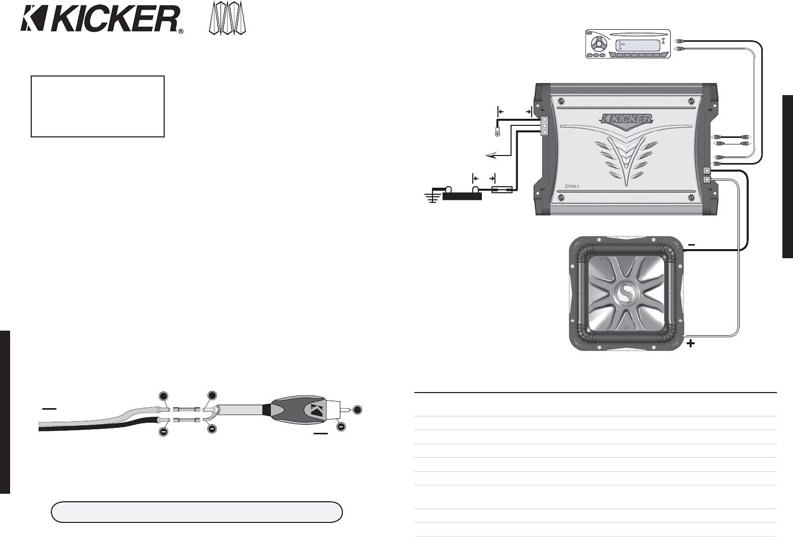L7 Wiring Diagram | Wiring Library - Kicker Wiring Diagram