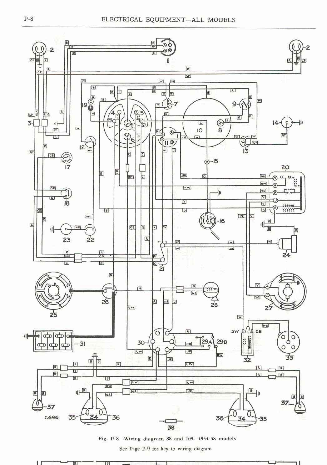 Land Rover Faq - Repair & Maintenance - Series - Electrical - Series Wiring Diagram