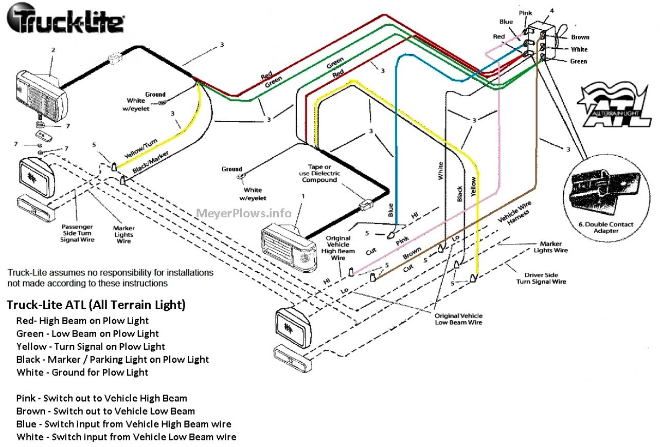 Latest Of Meyer Snow Plow Wiring Diagram E47 Schematic Lights 3 - Meyer Snow Plow Wiring Diagram E47