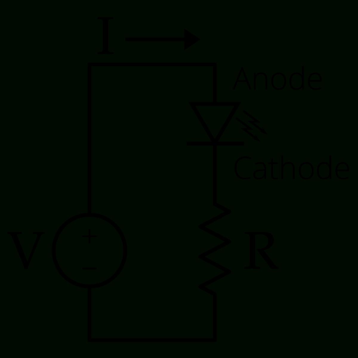 Led Circuit - Wikipedia - Led Wiring Diagram