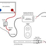 Led Light Strip 12V Wiring   Wiring Diagrams Click   Led Lighting Wiring Diagram