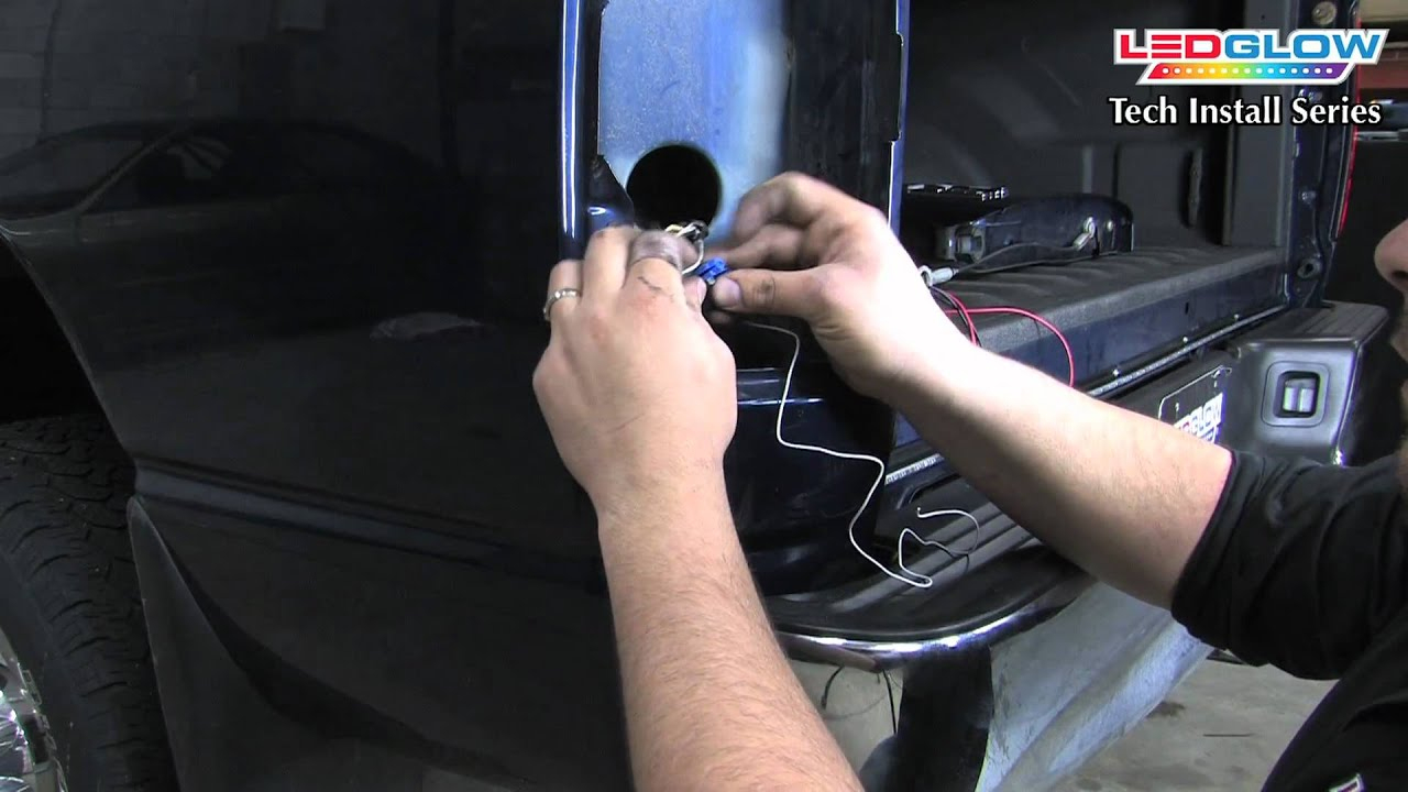 Ledglow | How To Install An Ledglow Tailgate Light Bar With Reverse - Led Tailgate Light Bar Wiring Diagram
