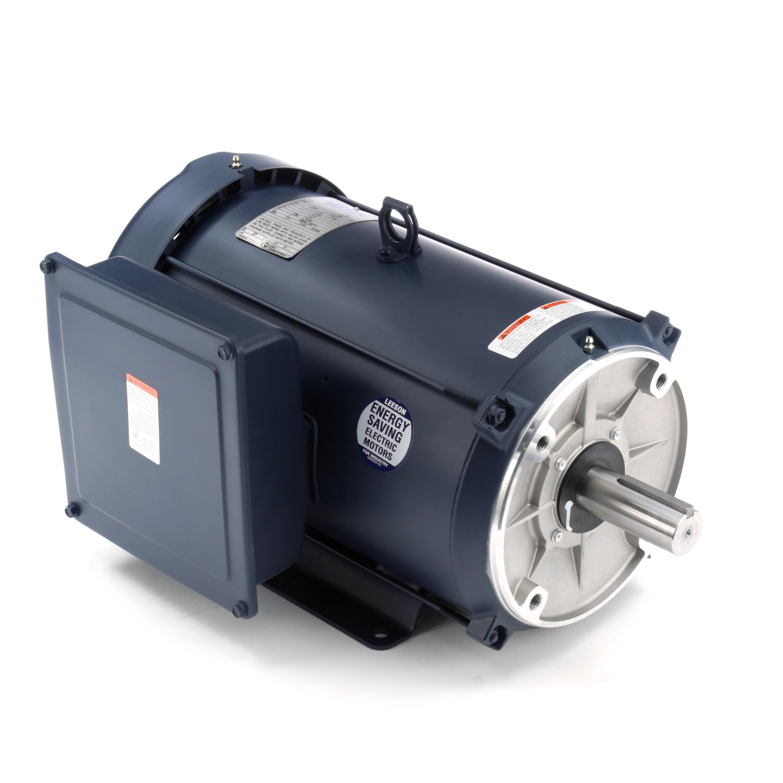 Leeson Electric, 140807.00, 7.5Hp, General Purpose Motor - Leeson Motor Wiring Diagram