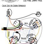 Les Paul Jimmy Page Style Prewired Harness Les Paul Mit Bumble Bee   Jimmy Page Wiring Diagram