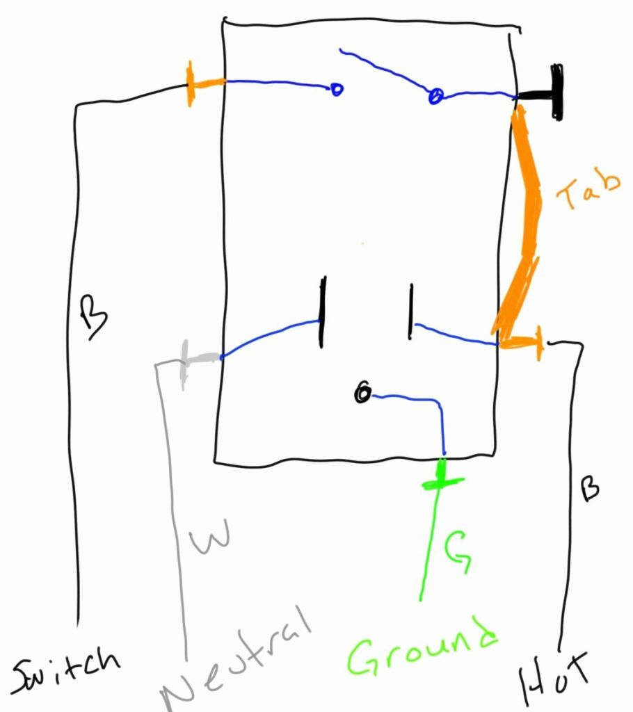 Leviton Gfi Switch Combo Wiring - Wiring Diagram Data Oreo - Leviton Switch Outlet Combination Wiring Diagram