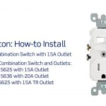 Leviton Presents: How To Install A Combination Device With A Single   Gfci Outlet With Switch Wiring Diagram