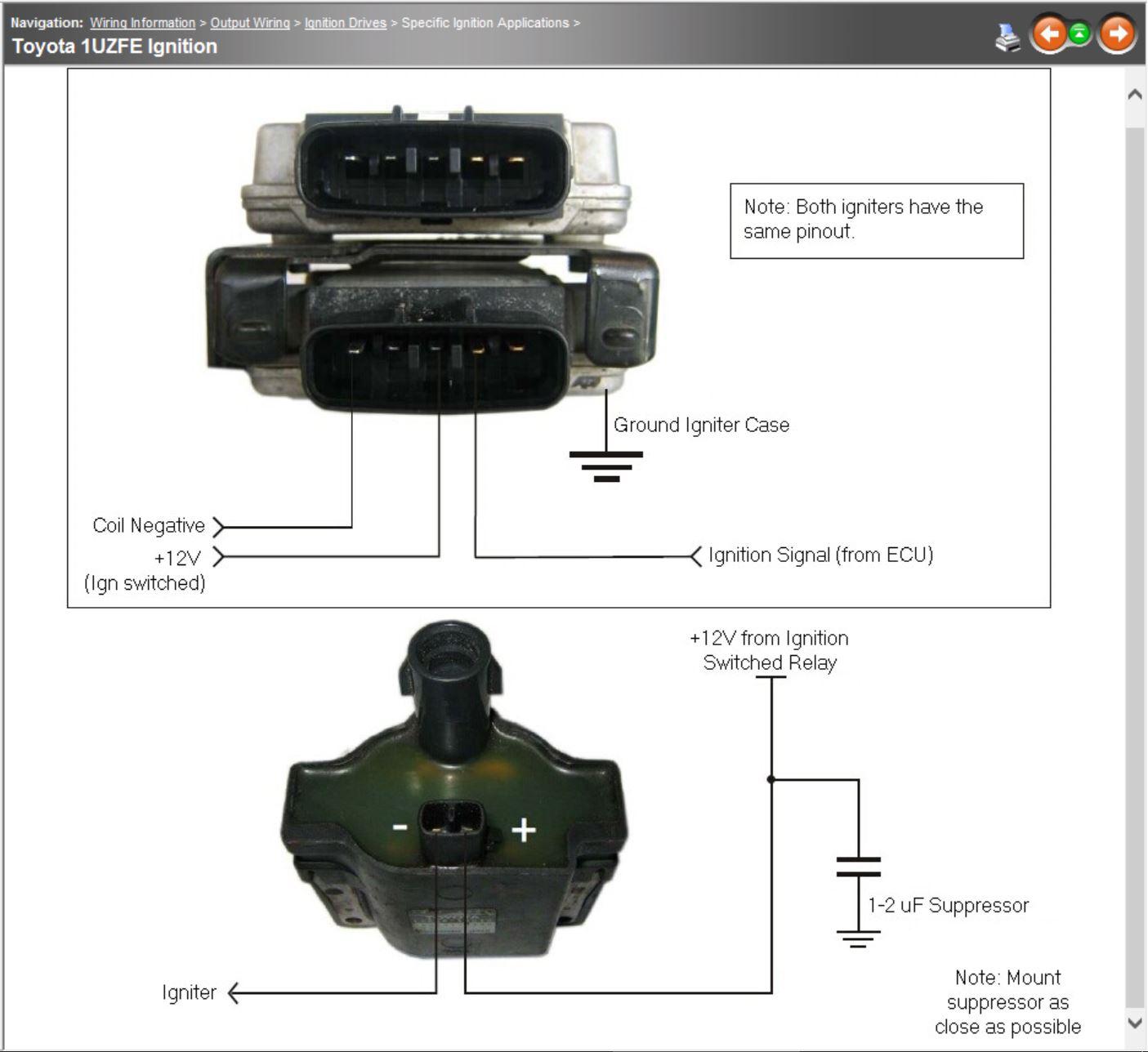 Lexus 1uzfe Help - G4 - Link Engine Management