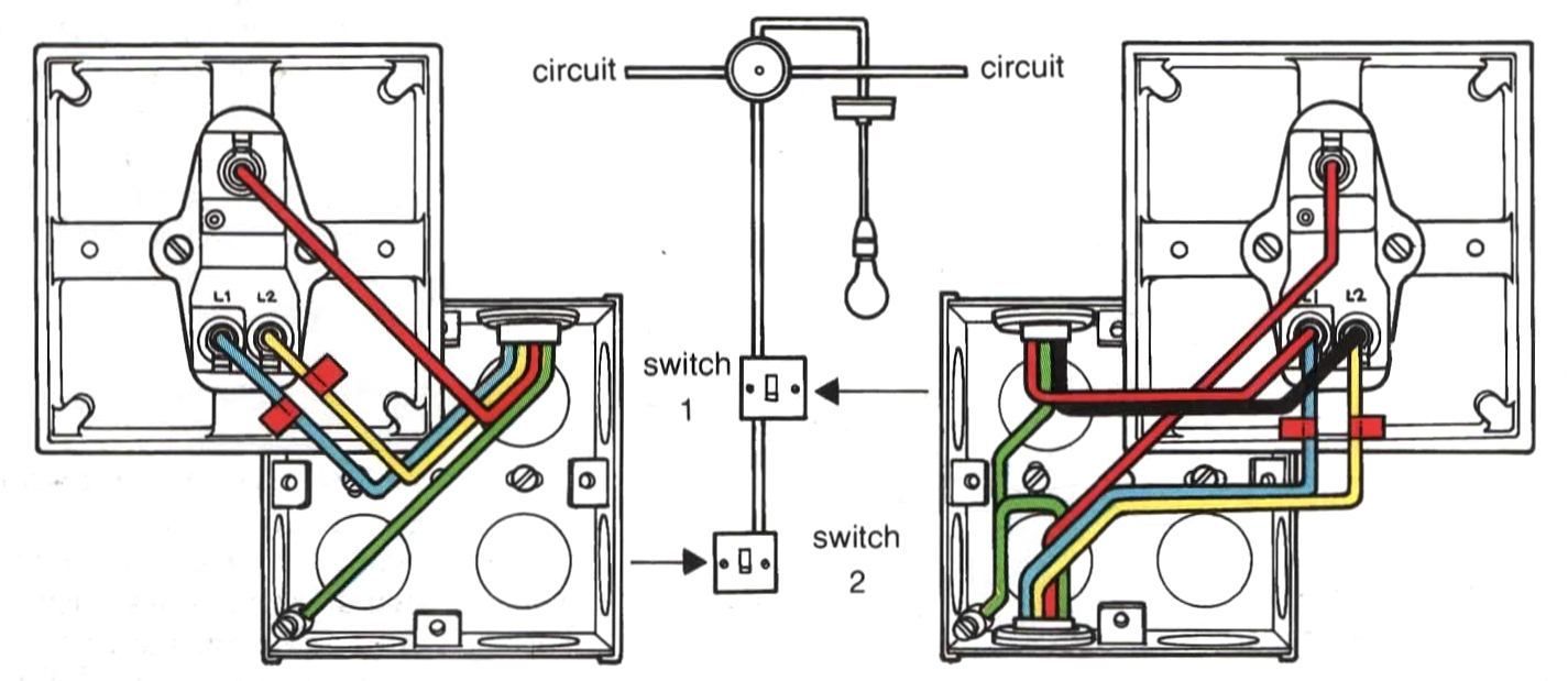 Light Switch Wiring Diagram With Schematic | Manual E-Books - Wiring Diagram For Light Switch