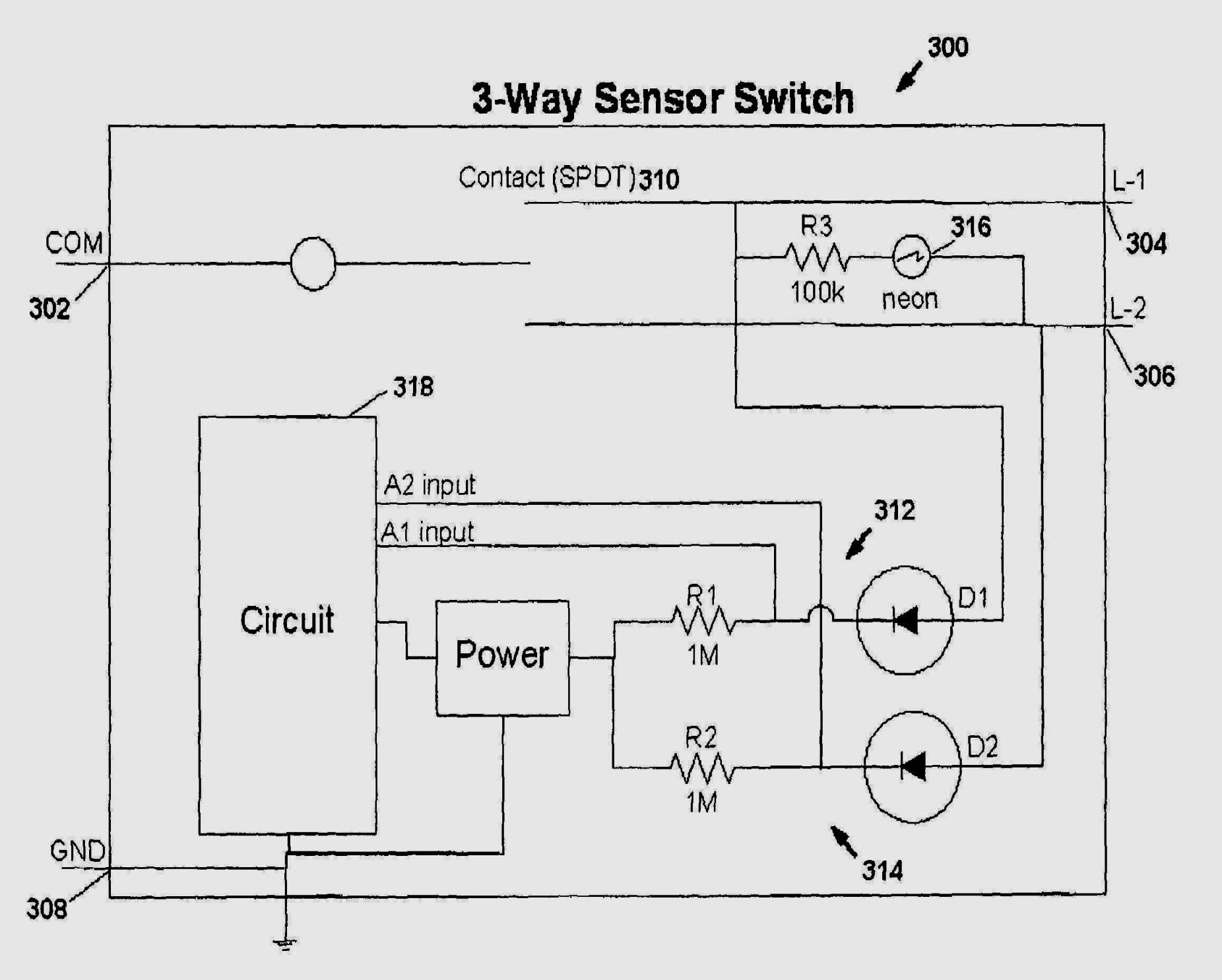 Lights Also Delphi Radio Wiring Harness Moreover Motion Sensor Light - Motion Sensor Light Switch Wiring Diagram