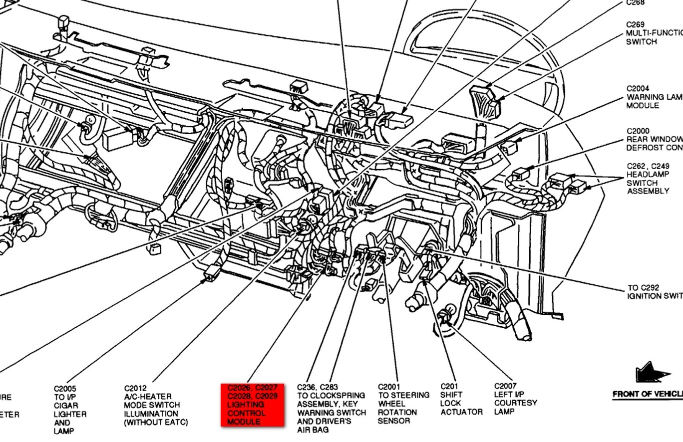Lincoln Town Car Questions - Tail Lights, Brake Light, Turn Signals - Brake Light Turn Signal Wiring Diagram