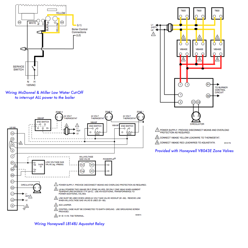 Low Water Cut Off Wiring Diagram | Manual E-Books - Mcdonnell Miller Low Water Cutoff Wiring Diagram