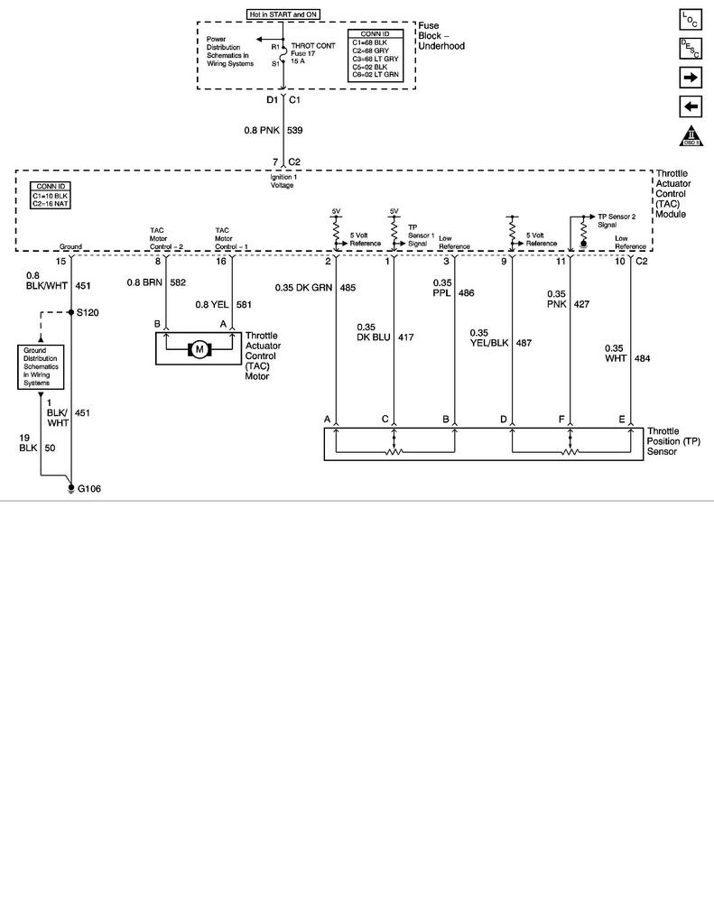Ls1 To Ls2 Throttle Position Sensor Wiring Swap Questions - Throttle Position Sensor Wiring Diagram