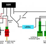 Make Music Controlled Christmas Lights: 6 Steps   Stereo Headphone Jack Wiring Diagram