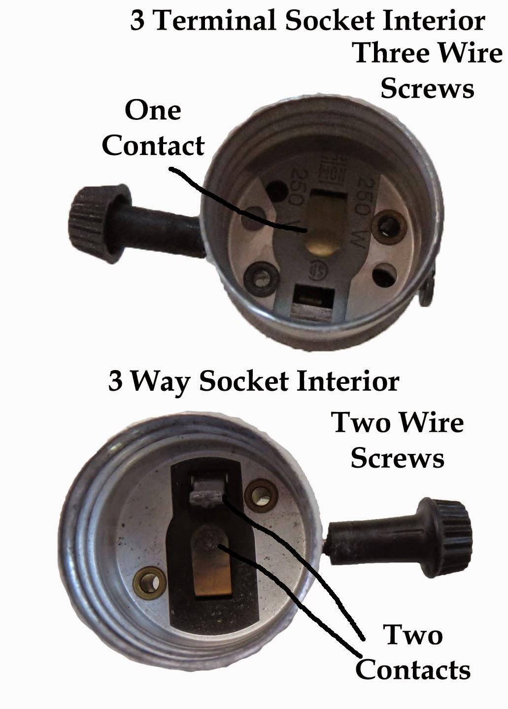 Making Electronics Fun Light Bulb Types Chart - 2 Circuit 3 Terminal Lamp Socket Wiring Diagram