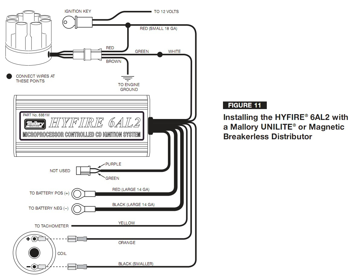 Mallory Magnetic Breakerless Distributor Wiring Diagram | Wiring Diagram - Mallory Magnetic Breakerless Distributor Wiring Diagram