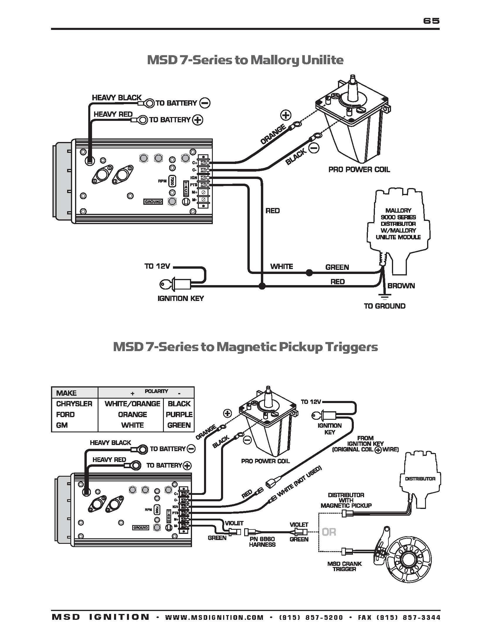 Mallory Unilite Wiring Diagram Sbc - Wiring Diagram Data Oreo - Ignition Wiring Diagram Chevy 350