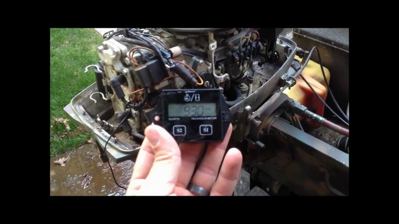 Marine Tachometer Wiring | Schematic Diagram - Johnson Ignition Switch Wiring Diagram
