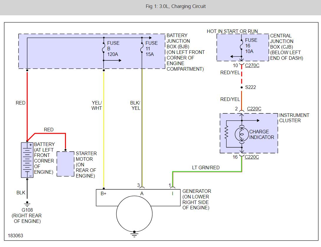 Mazda Alternator Wiring - Wiring Diagram Schema - Dual Alternator Wiring Diagram