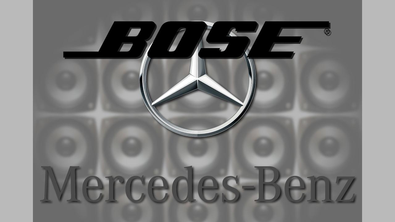 Mercedes Benz R230 Bose Amplifier Wiring Codes Diagram Sl55 Amg Sl65 - Bose Car Amplifier Wiring Diagram