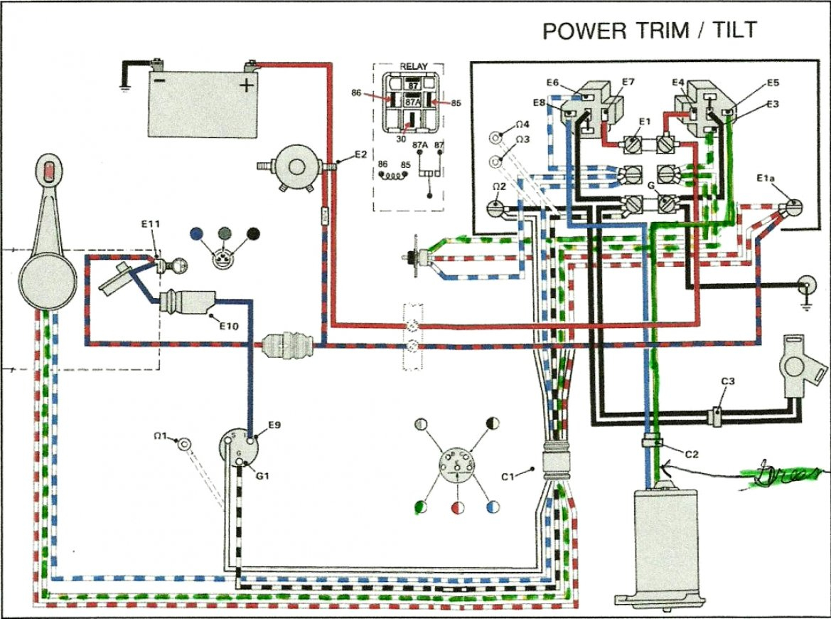 Mercruiser Trim Sender Wiring Diagram | Wiring Diagram - Mercruiser Trim Sender Wiring Diagram