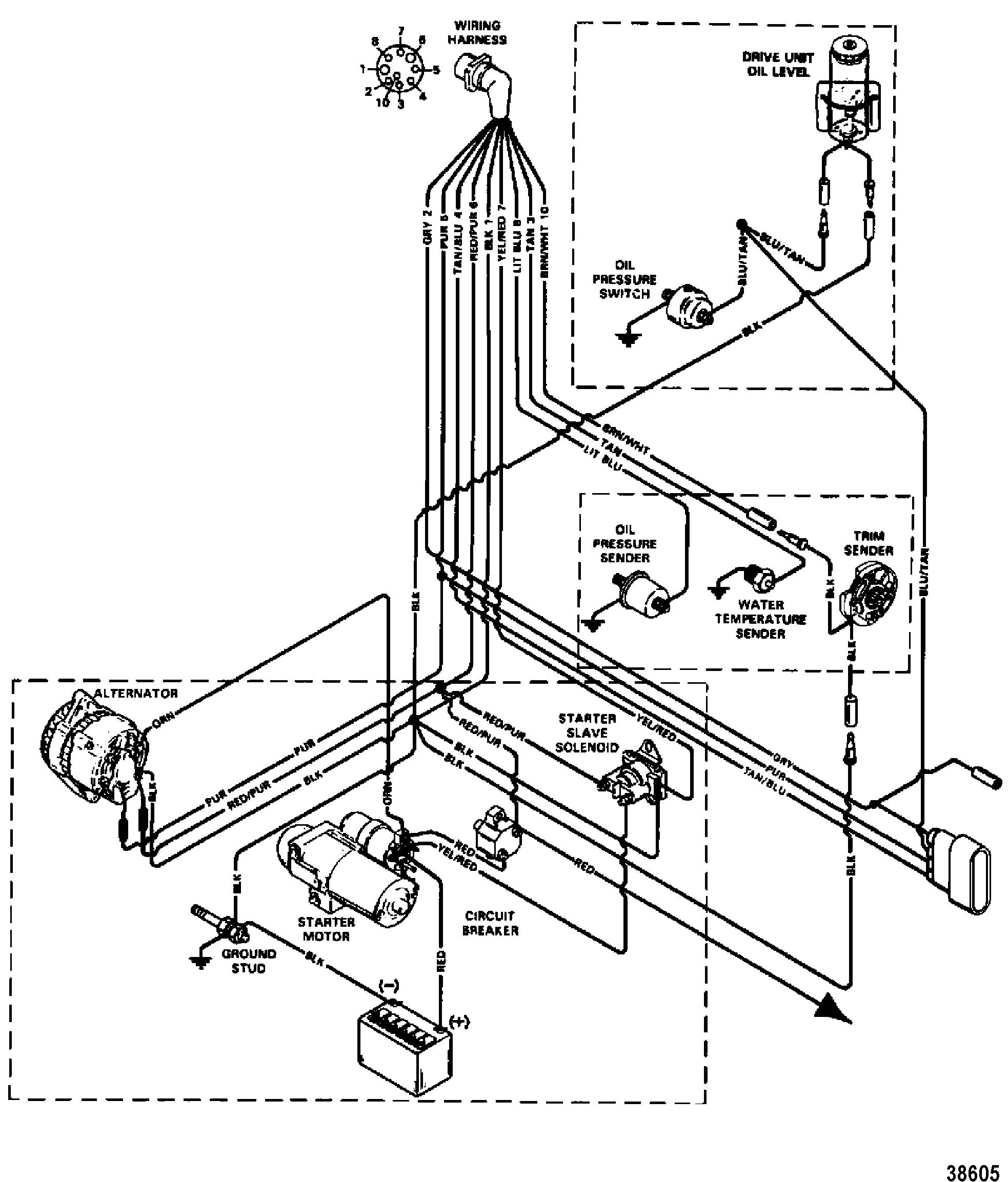 Mercruiser Wire Diagram | Manual E-Books - Mercruiser Wiring Diagram