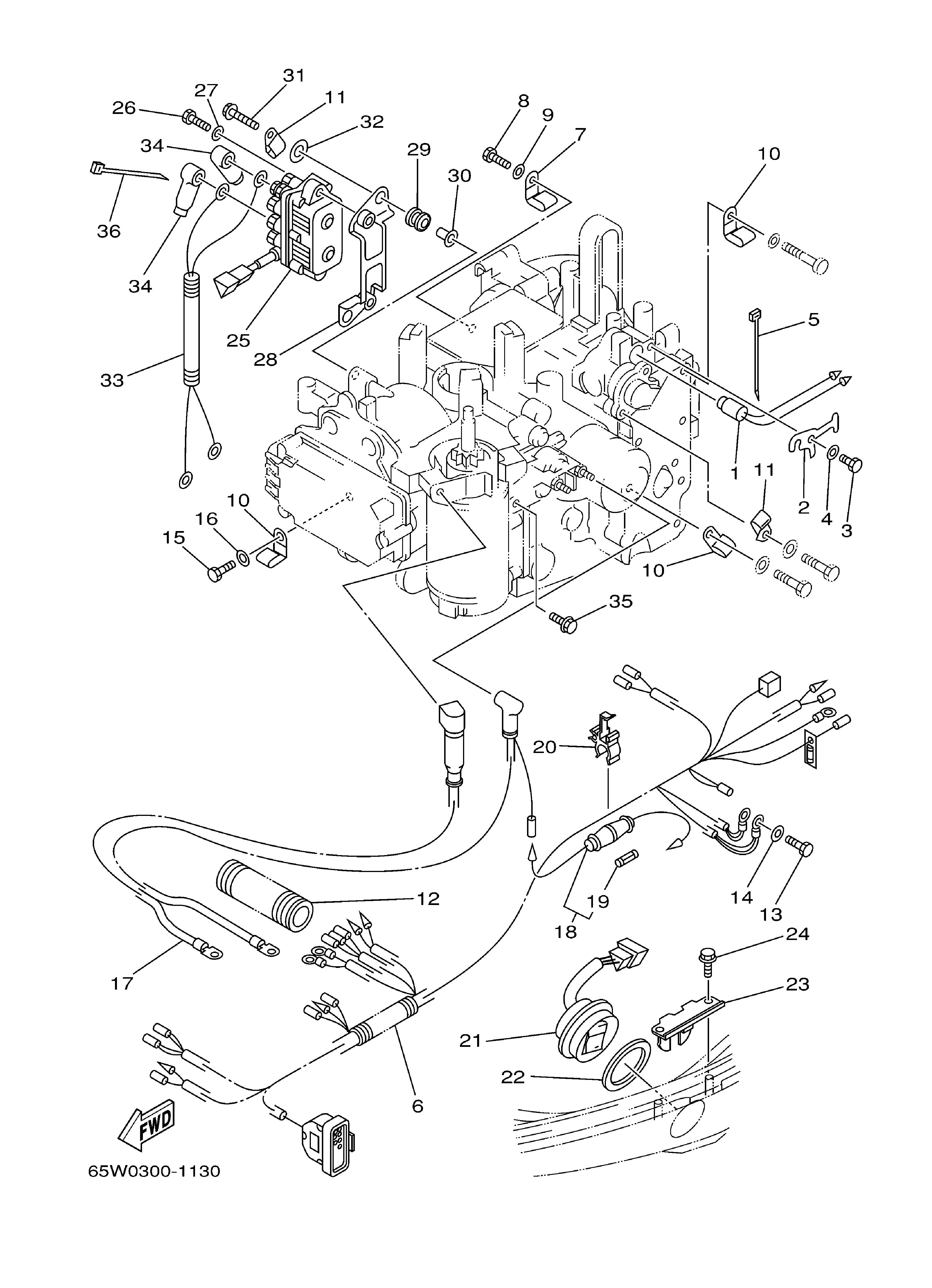 Mercury 60 Hp Hub - Wiring Diagram Database - 40 Hp Mercury Outboard Wiring Diagram