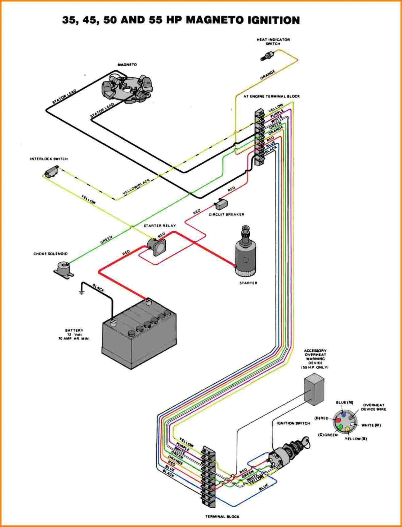 Mercury 150 V6 Wiring Diagrams