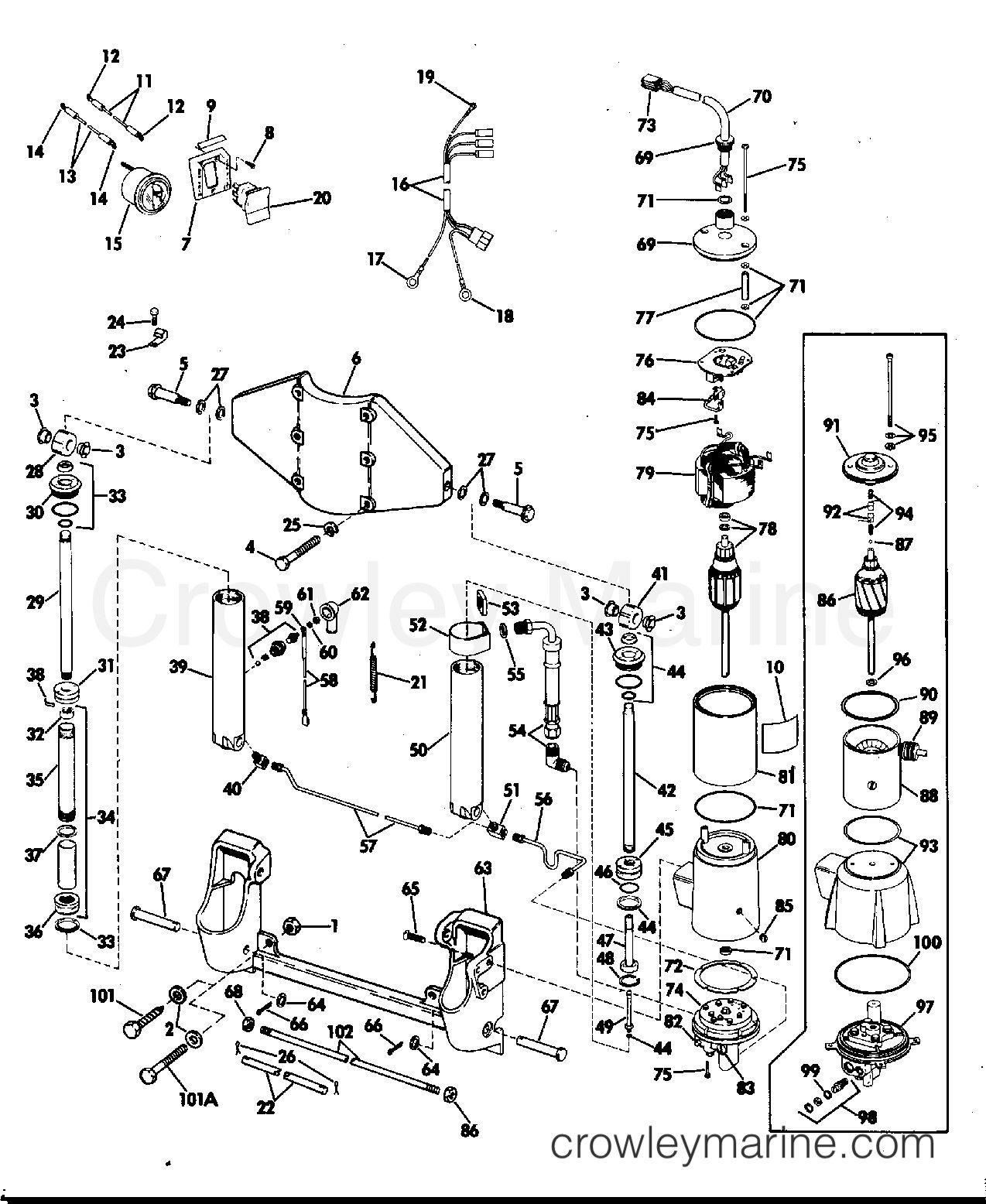 Mercury Tilt Trim Wiring Diagram | Wiring Library - Mercury Outboard Power Trim Wiring Diagram