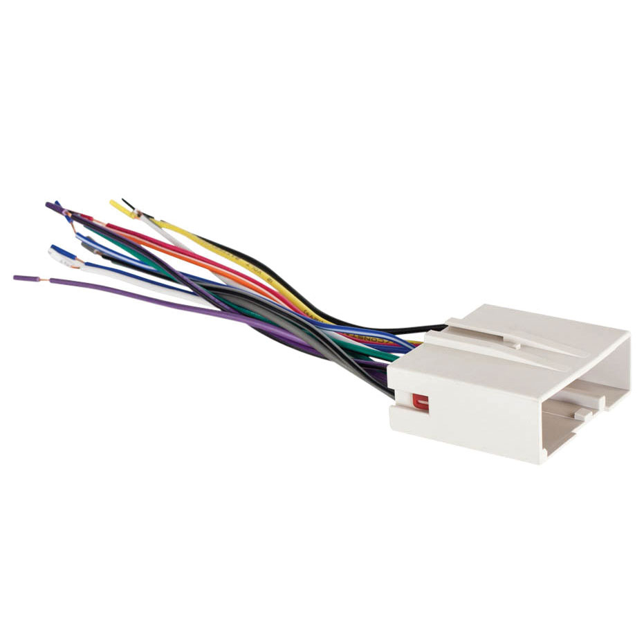 Metra 70-5520 Ford 2003-Up Into Car Wiring Harness - Metra 70-5520 Wiring Diagram