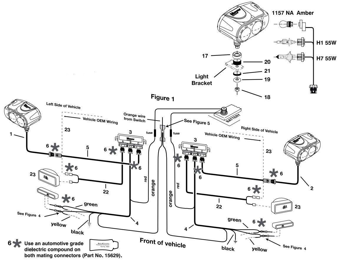 Meyer Diamond Plow Wiring Diagram | Manual E-Books - Meyers Snow Plow Wiring Diagram E47