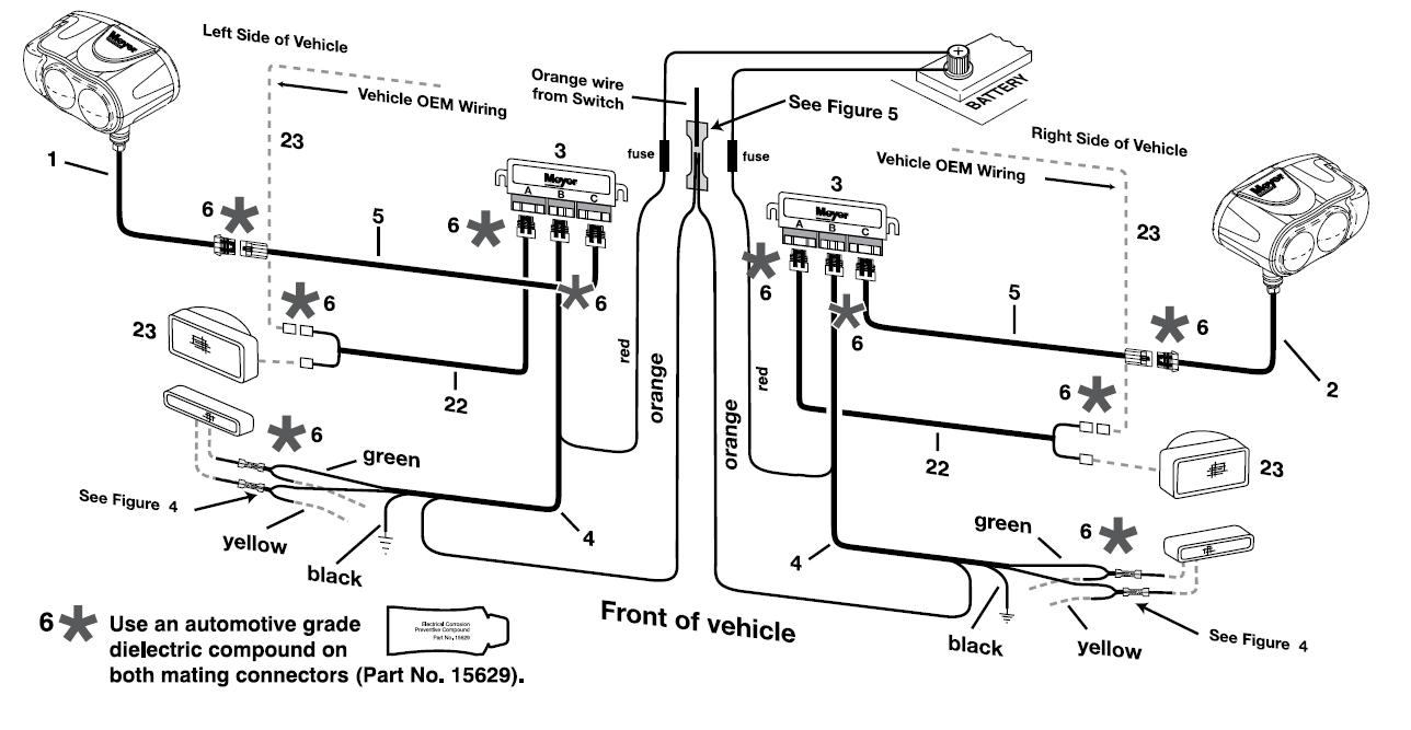 Meyers Wiring Harness Diagram - Wiring Diagrams Hubs - Meyer Snowplow Wiring Diagram