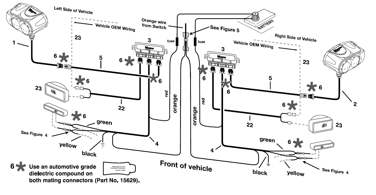 Meyers Wiring Harness Diagram - Wiring Diagrams Hubs - Meyers Snow Plows Wiring Diagram