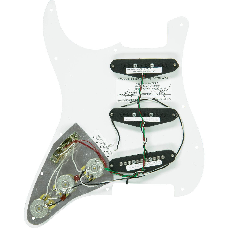 Missing Bare Wire On Dimarzio Area Pickups, Solution? - Dimarzio Wiring Diagram