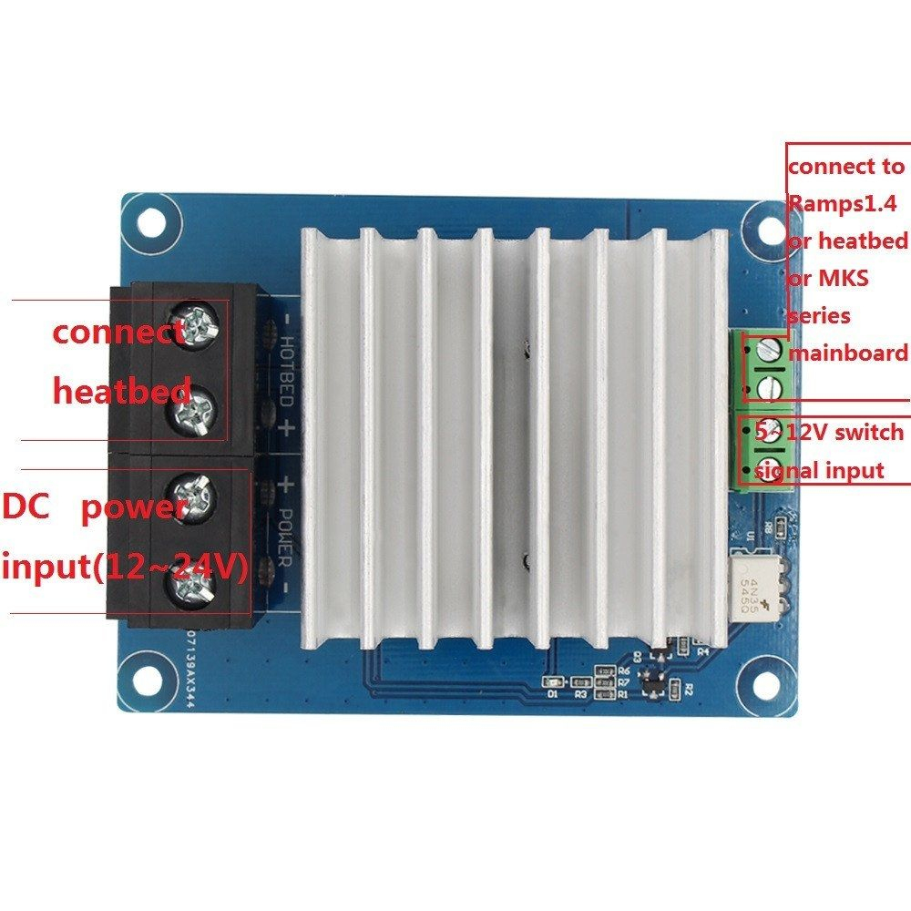 Mks Mosfet Controller Pertaining To Anet A8 Mosfet Wiring Diagram - Anet A8 Mosfet Wiring Diagram