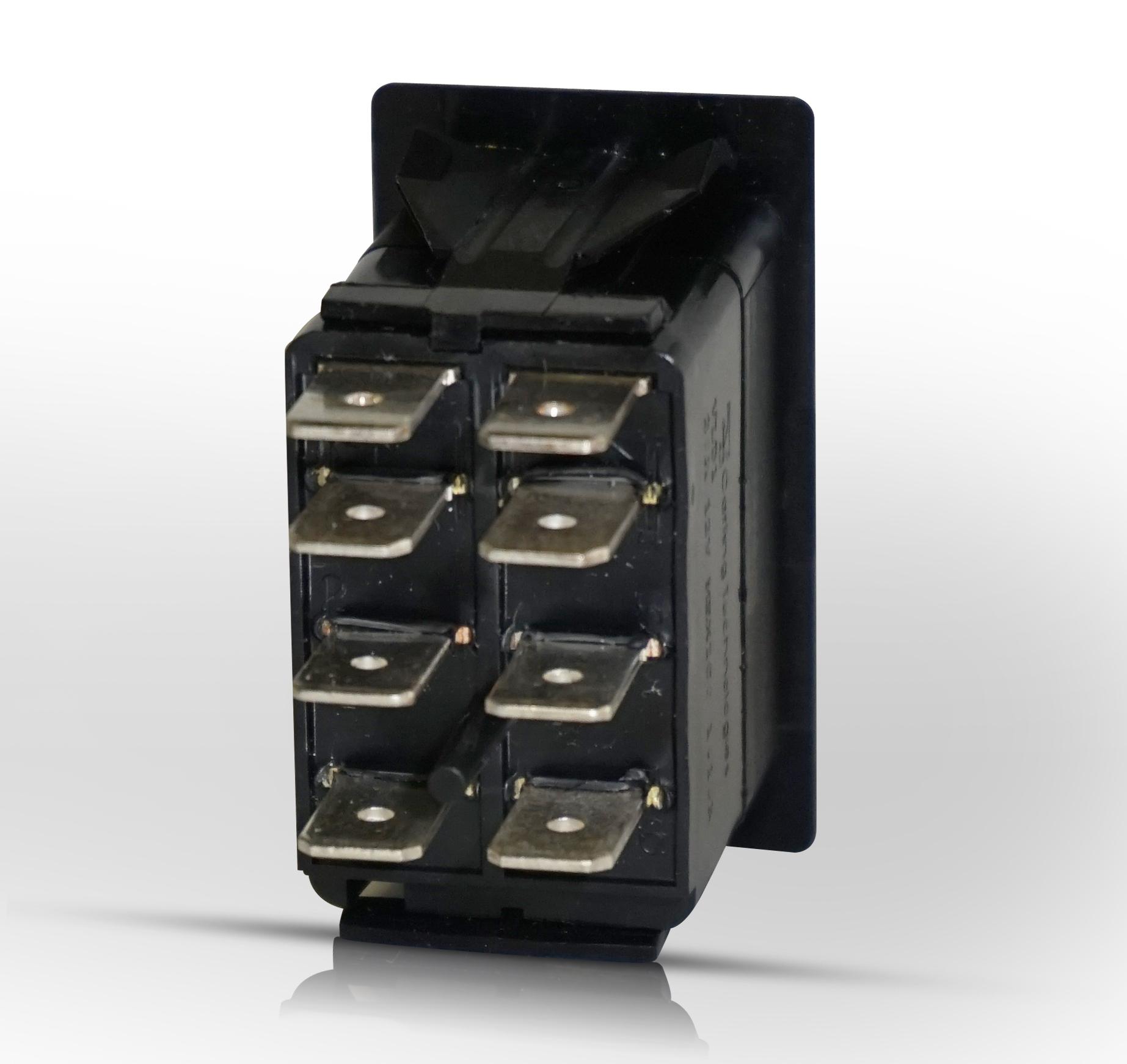 Momentary Switch | (On)-Off-(On) | Rocker Switch Pros - 8 Pin Rocker Switch Wiring Diagram