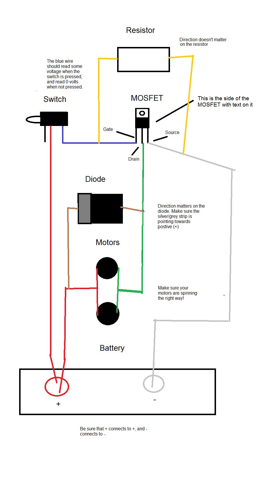 Mosfet Wiring Diagram - Wiring Diagram Omano Schematics • - Tevo Tarantula Wiring Diagram