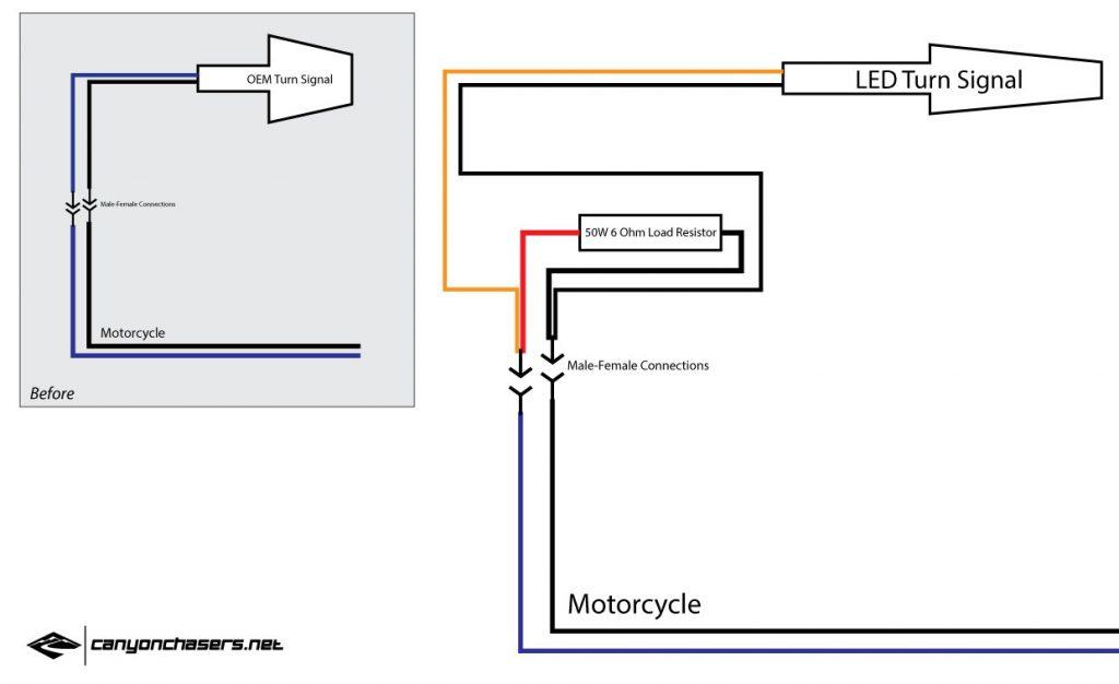 Motorcycle Led Turn Signal Resistors