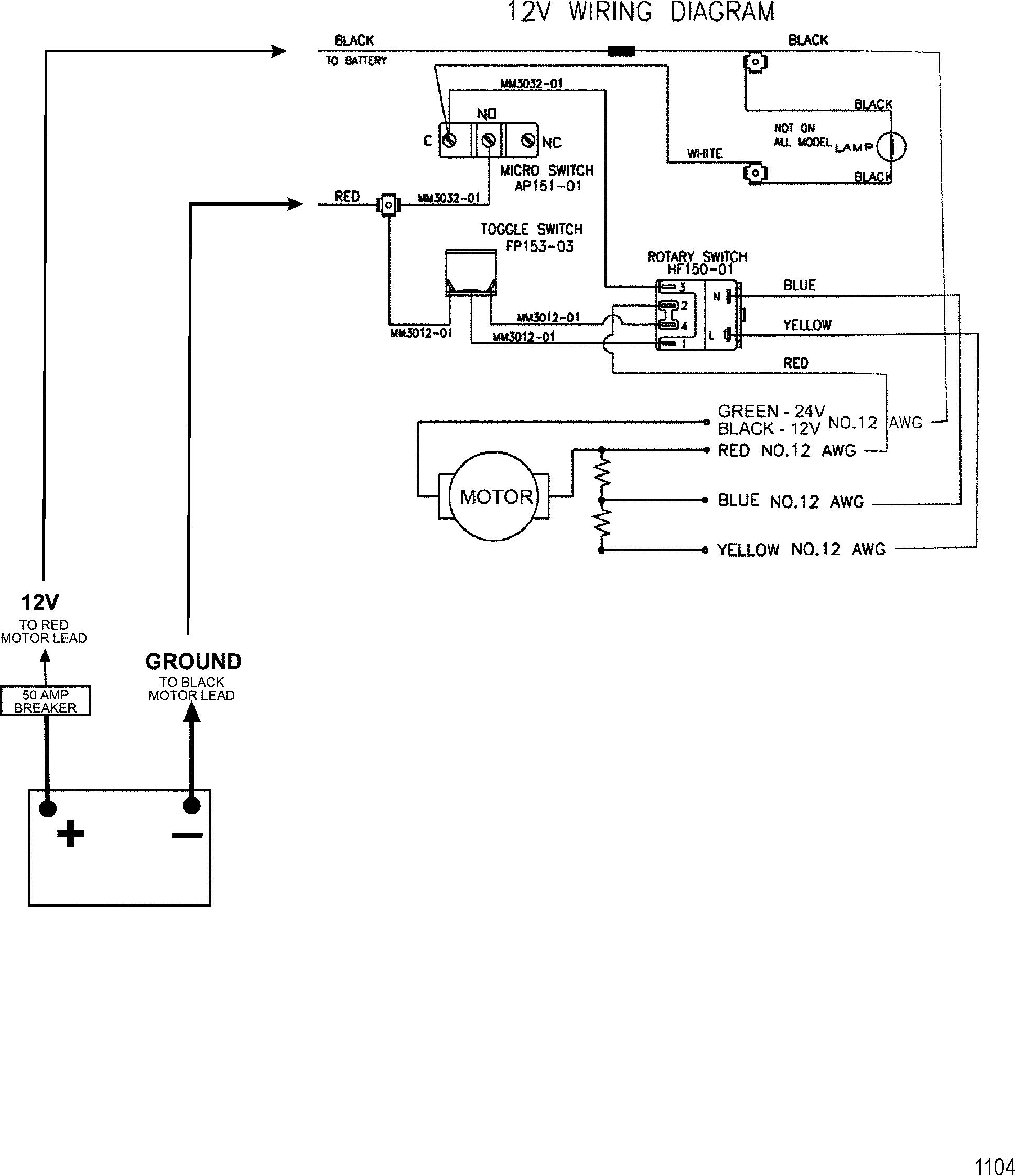 Motorguide Trolling Motor Wiring Diagram | Manual E-Books - Motorguide Trolling Motor Wiring Diagram