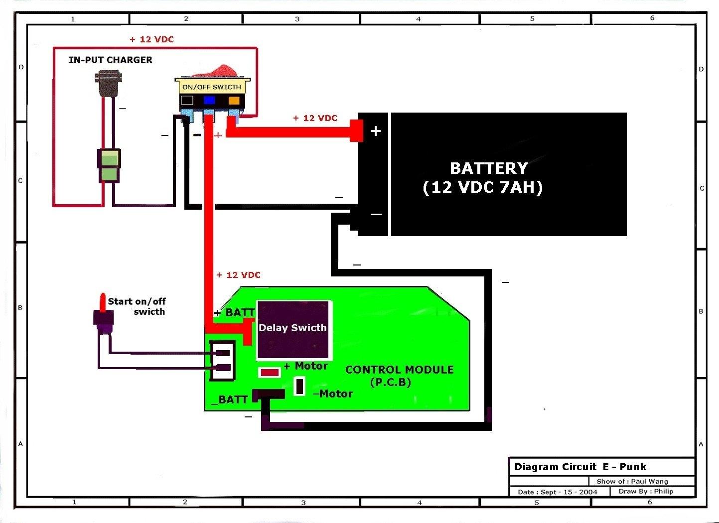 Motorized Bicycle Wiring Diagram | Autowiringdiagram - Motorized Bicycle Wiring Diagram