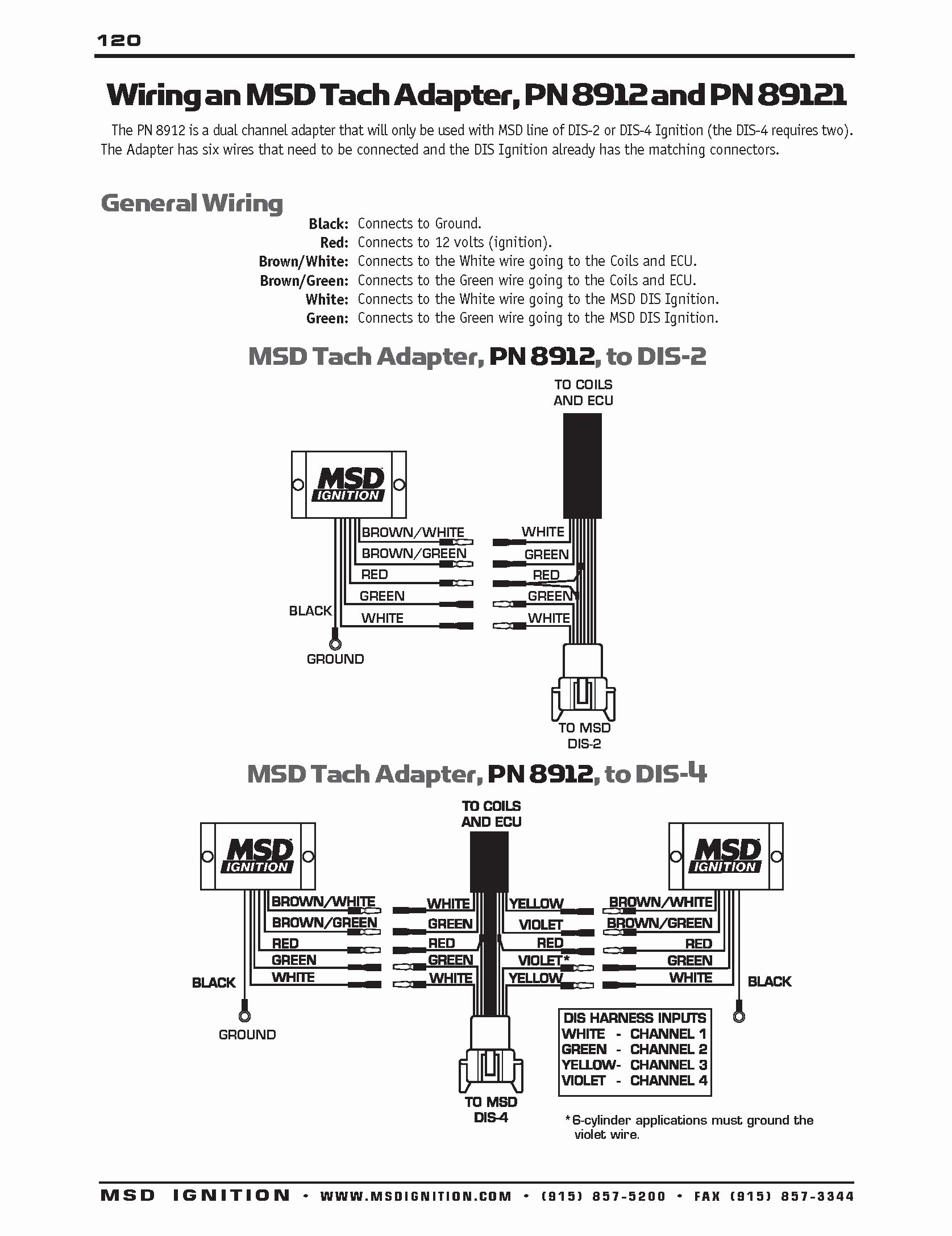 Msd 6A Tach Wiring | Wiring Library - Msd Digital 6 Plus Wiring Diagram