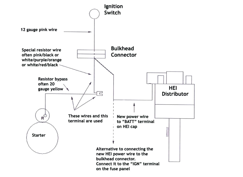 Msd 6Al Wiring Diagram Hei Copy Accel Distributor And Delco Remy - Msd 6Al Wiring Diagram Chevy