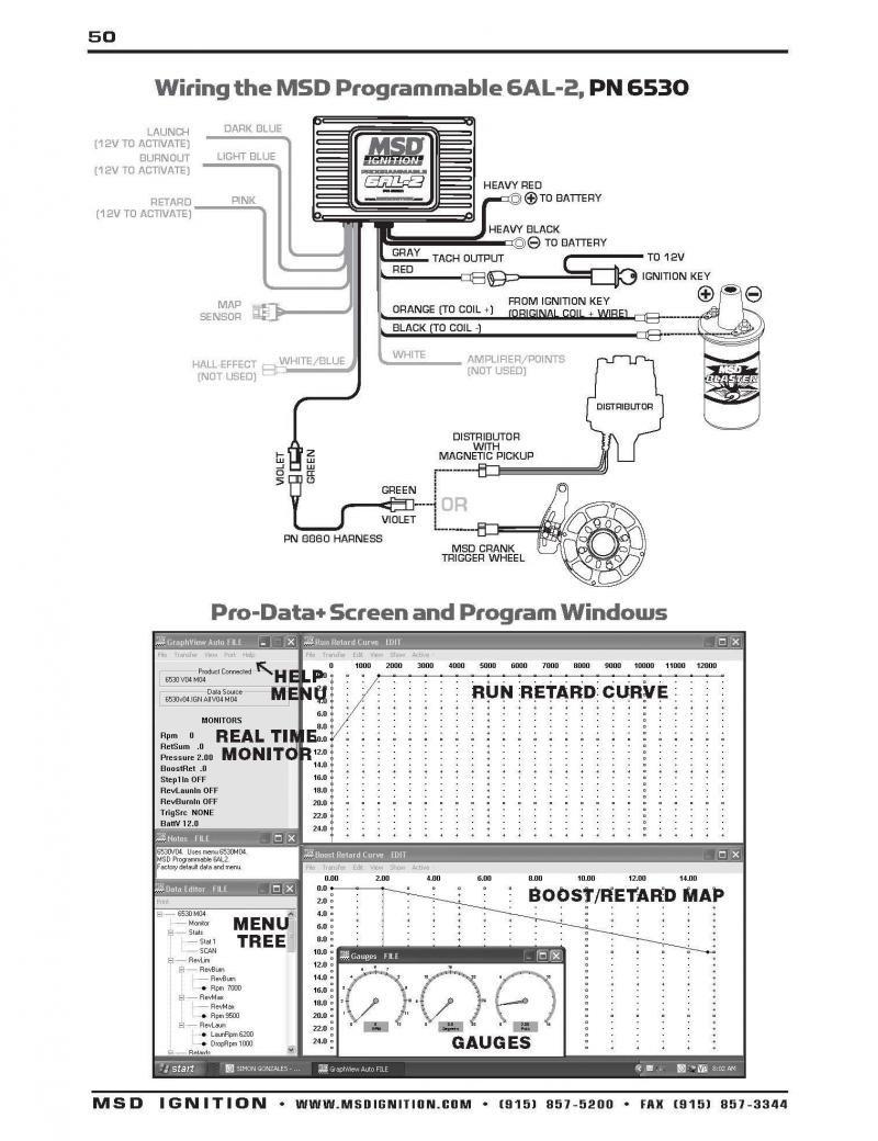 Msd 6Al Wiring Diagram Mopar Wire Random 2 On 6Al2 | Philteg.in - Msd 6Al Wiring Diagram Chevy