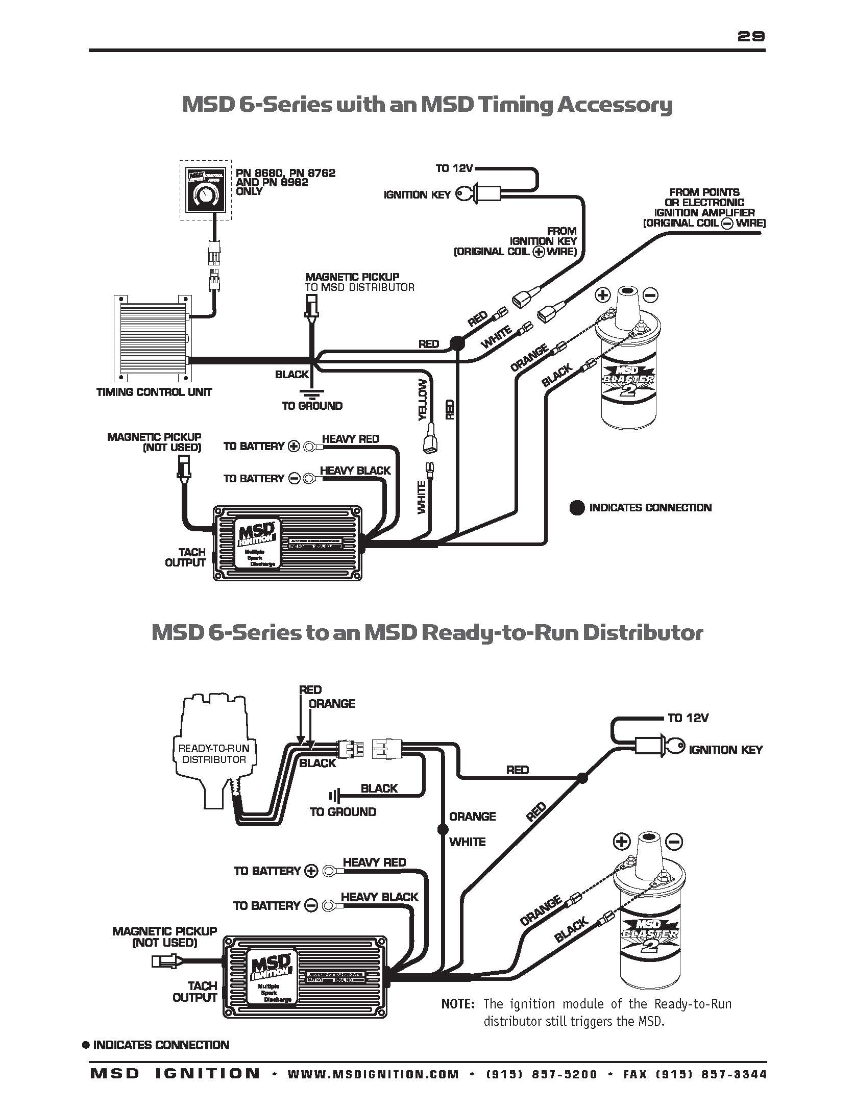 Msd Distributor Wiring - Wiring Diagram Blog - Msd Distributor Wiring Diagram